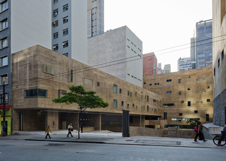 Praça-das-Artes-by-Brasil-Arquitetura-features-concrete-boxes-projecting-over-a-public-plaza_dezeen_ss_5