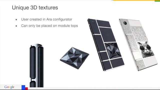 Project Ara 3D textures