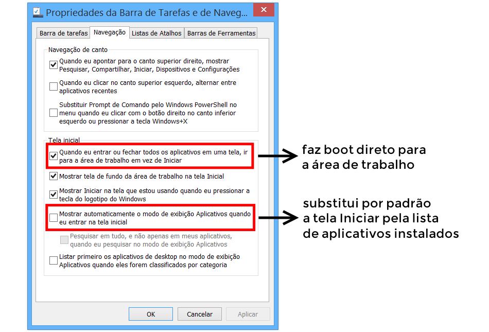 barra tarefas windows 8.1 update