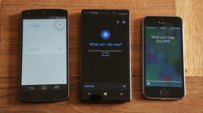 cortana siri google now