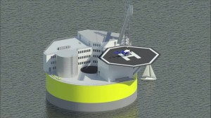 floating nuclear reactor