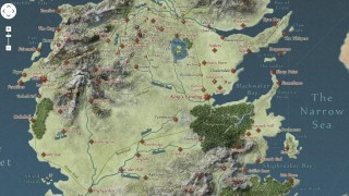 Explore o universo de Game of Thrones como se você estivesse no Google Maps