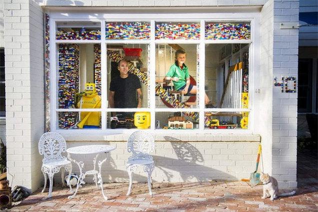 Australiano tem mais de uma tonelada de Lego (literalmente)