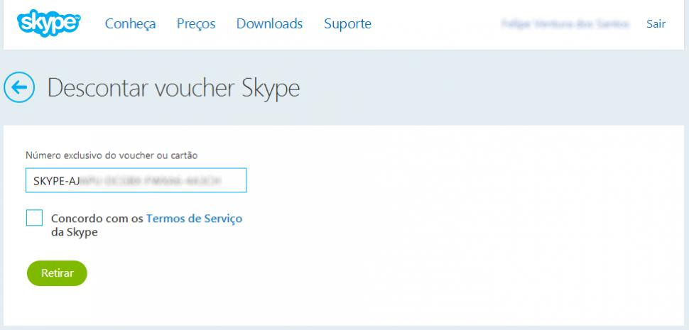 Skype voucher 3