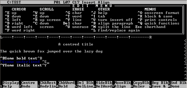 Wordstar_Screenshot