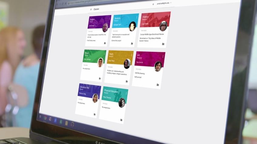 Classroom, plataforma do Google para professores, agora está disponível para todos