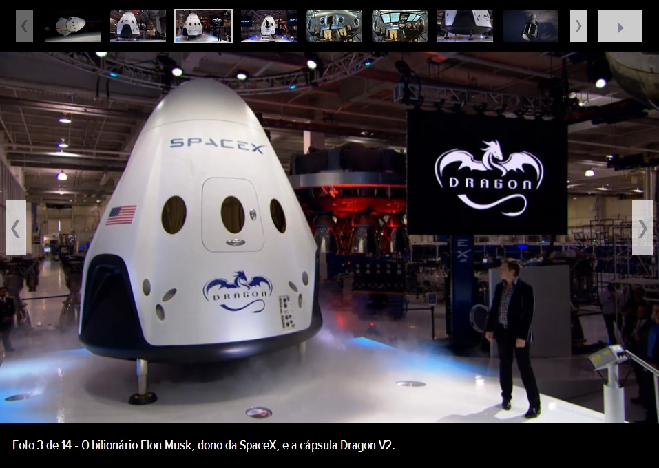 spacex dragon v2 galeria