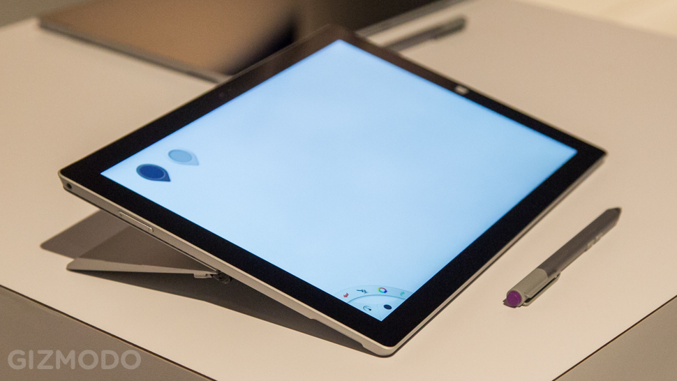 Surface Pro 3 com caneta stylus