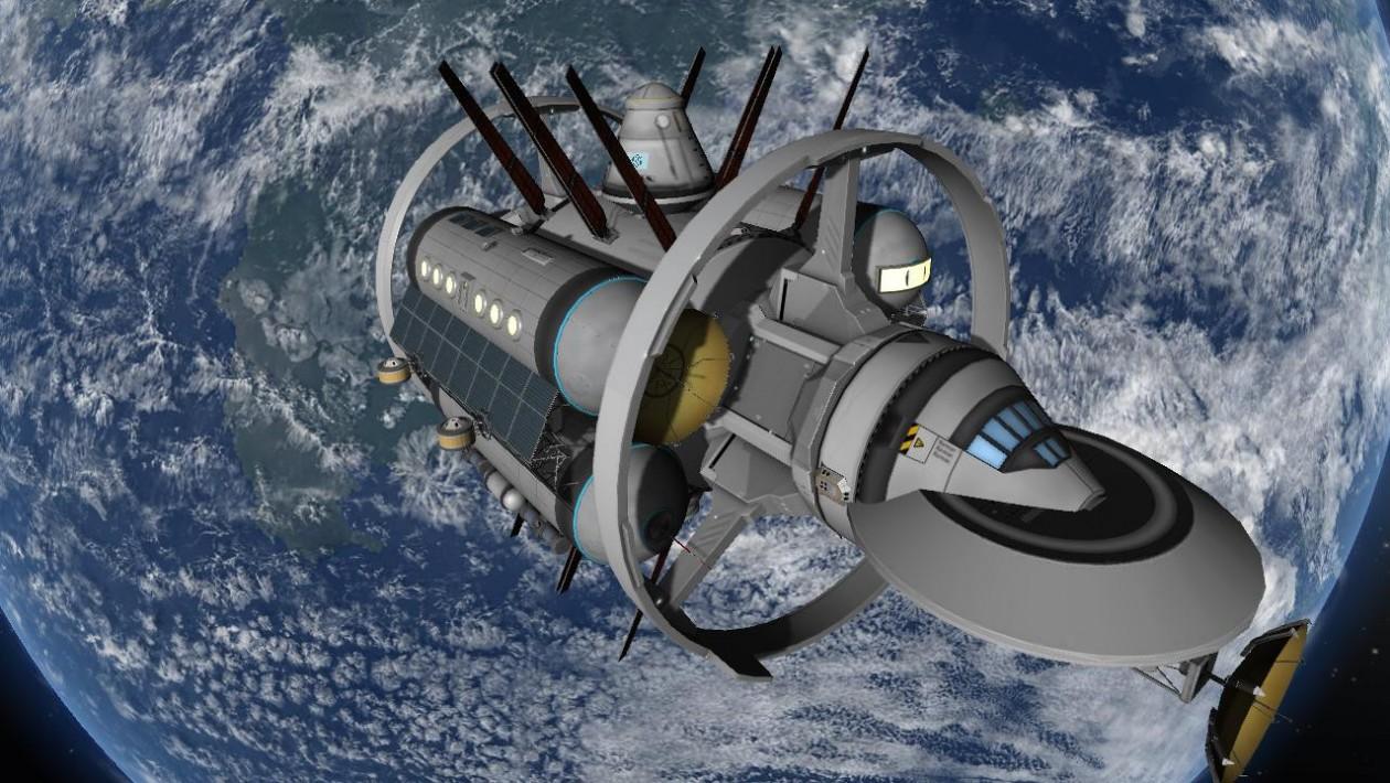A versão da Enterprise da Nasa em Kerbal é tão legal quanto o projeto original