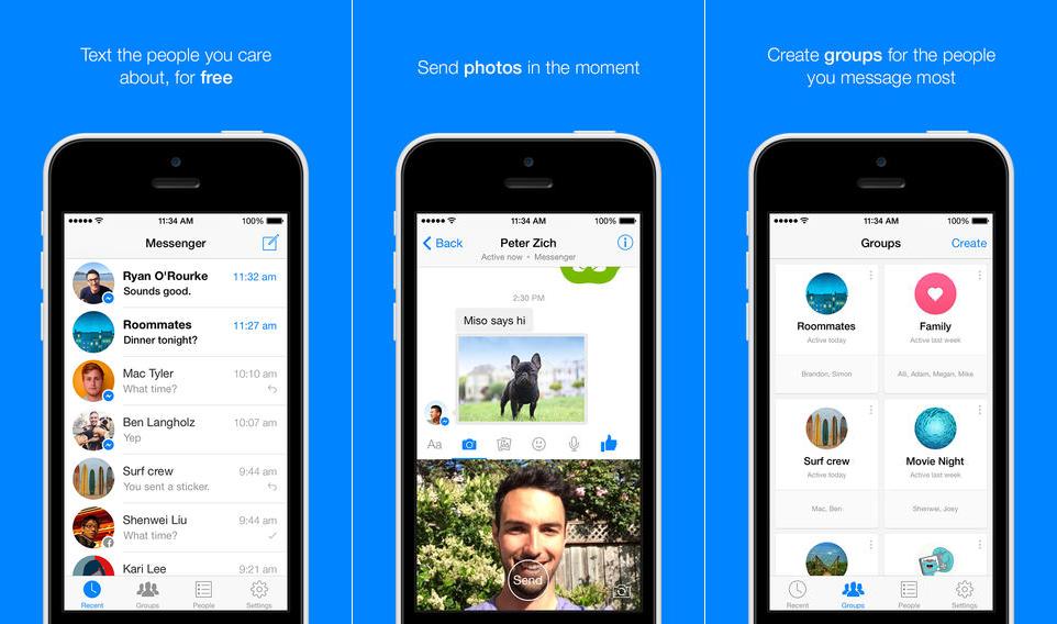 Facebook Messenger iOS copy