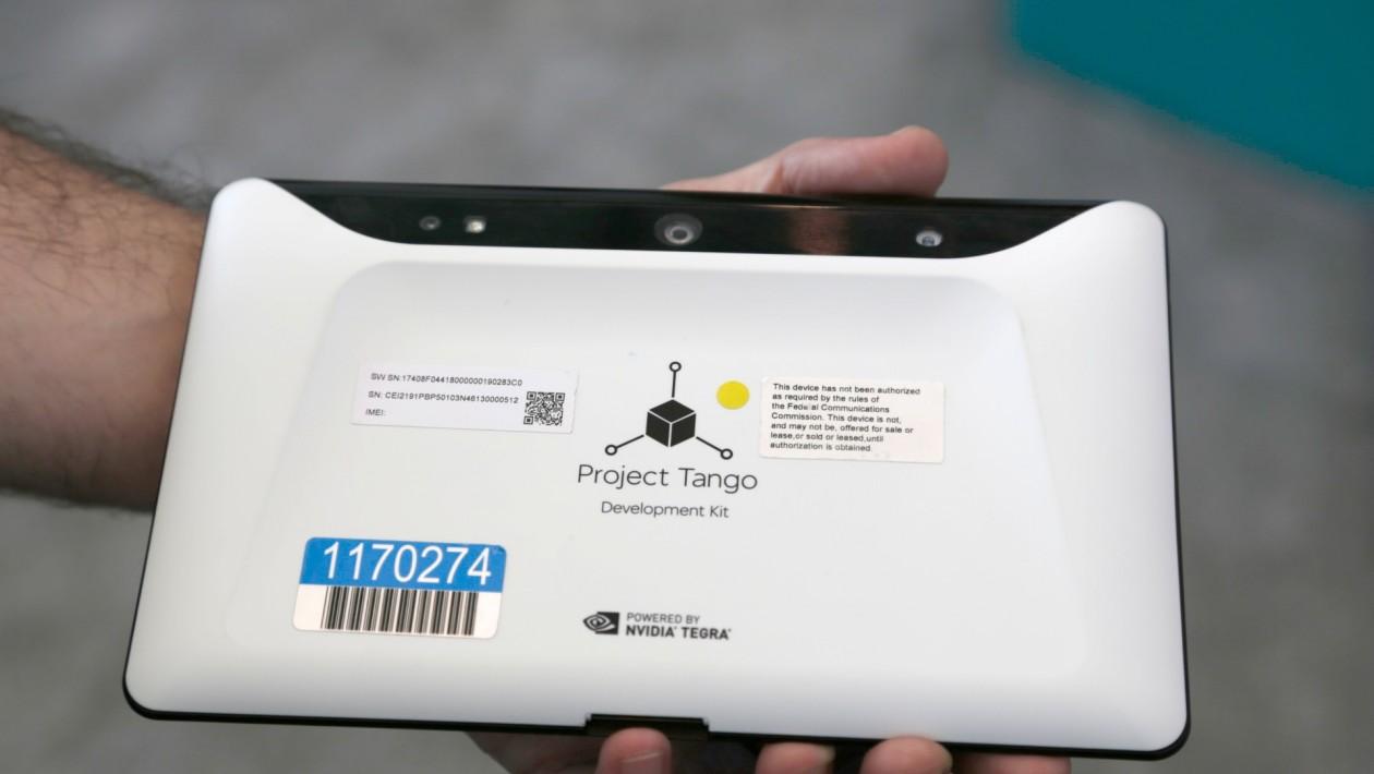 Project Tango, do Google, está pronto para dar visão de Kinect ao seu próximo tablet