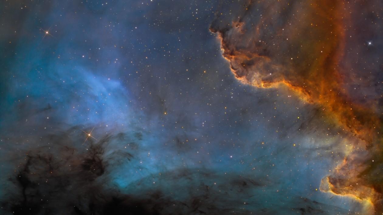 NGC 7000 nebula