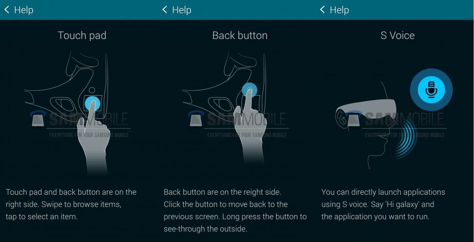 Samsung Gear VR help