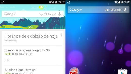 diga ok google now