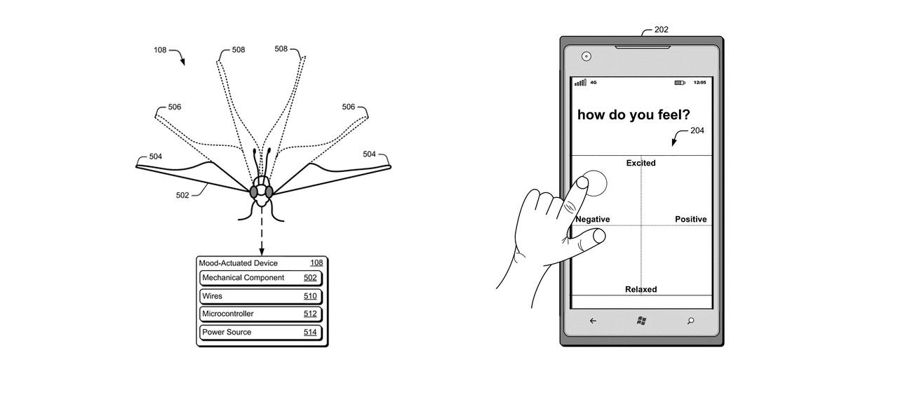 microsoft borboleta patente