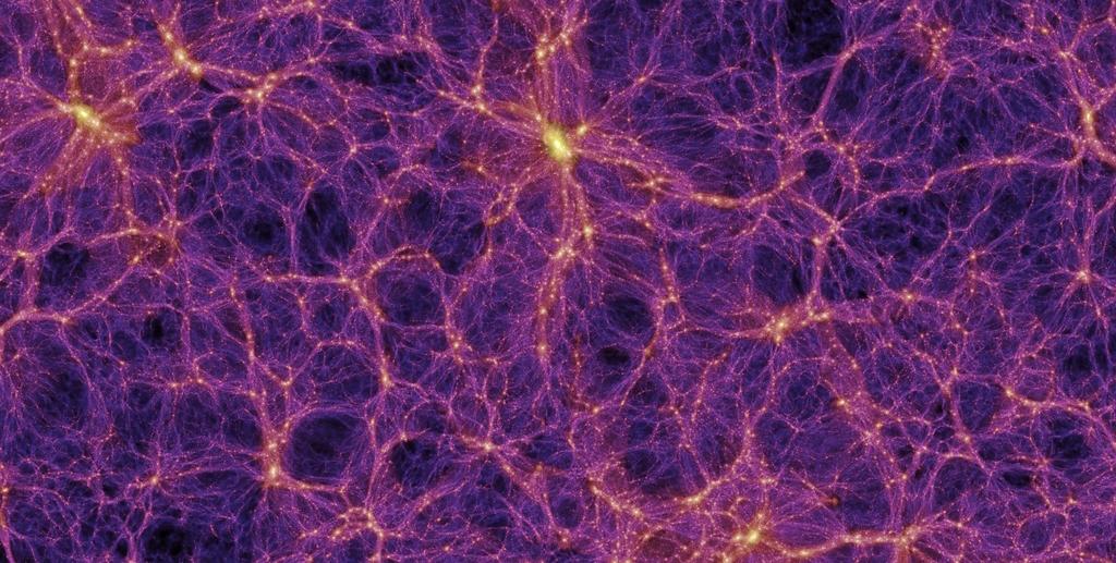 millenium simulation universo universe