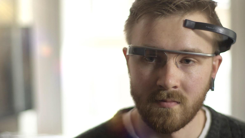 Você pode controlar o Google Glass usando o poder da mente