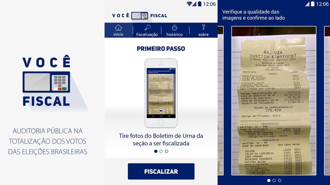 Um app promete revelar se houver fraude nas eleições deste ano