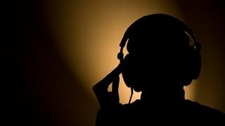 headphones silhouette