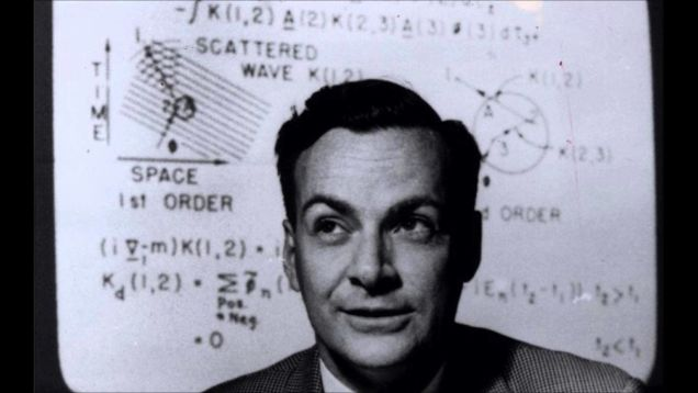 Agora você pode ter acesso a todas as palestras de Richard Feynman