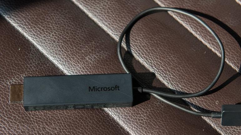 Microsoft's Wireless Display Adapter