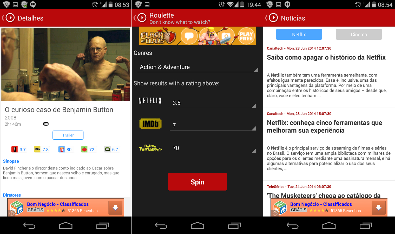 Upflix Android