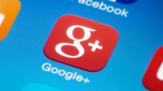 google plus icon screen