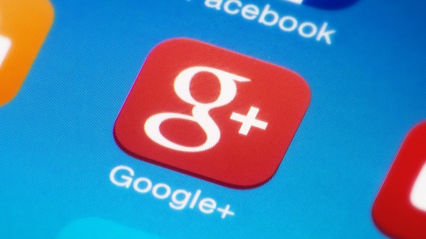 google plus icon screen