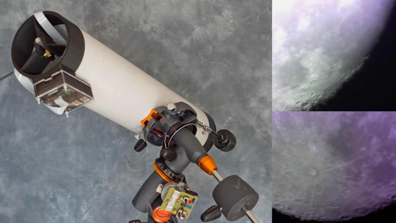 As primeiras fotos tiradas por um telescópio feito com ajuda da impressão 3D