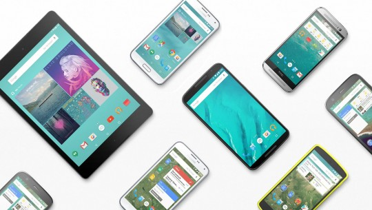 android lollipop devices