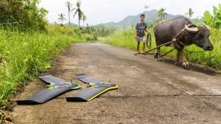 Drones monitoram a propagação da malária