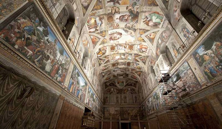 A obra de Michelangelo na Capela Sistina