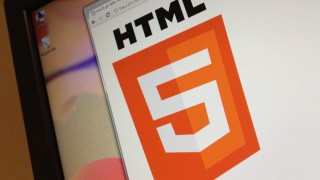 html5 logo screen