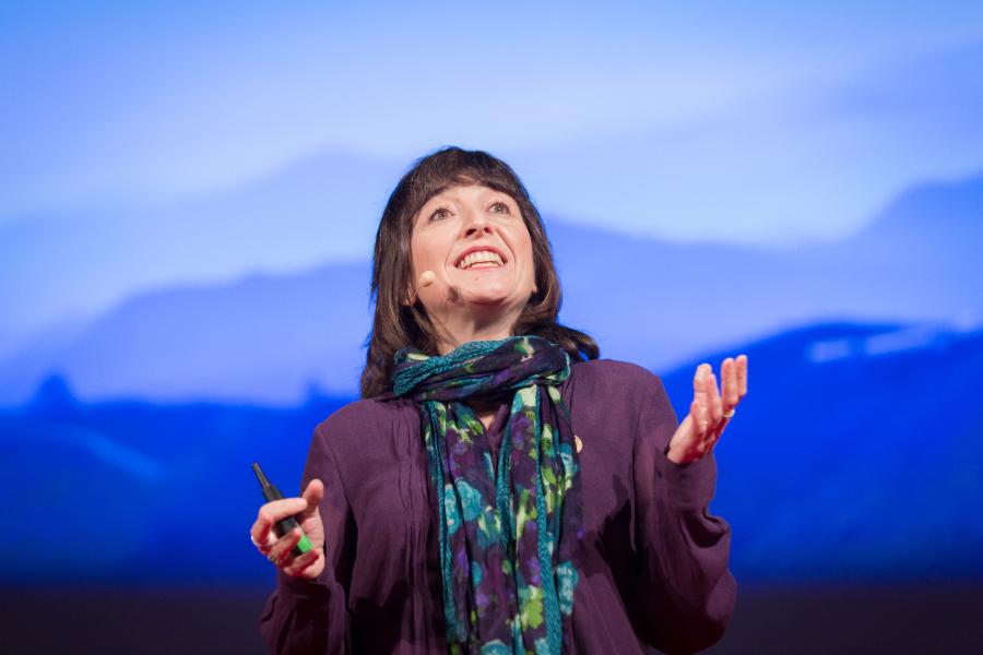 Wendy Freeman fala no TED