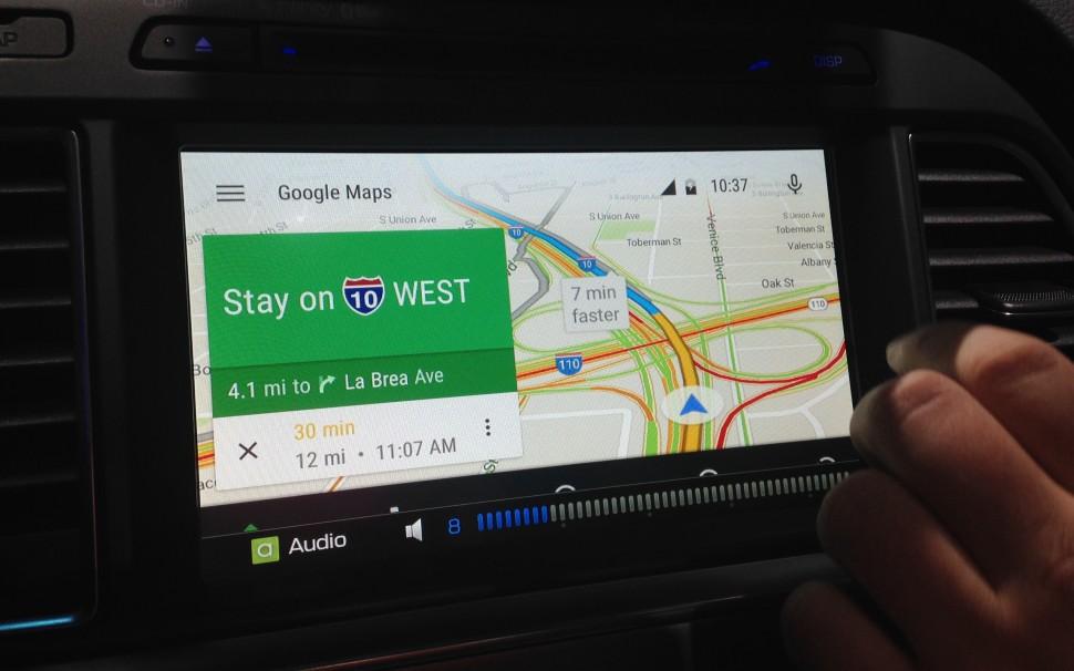 Android Auto Hyundai mapas