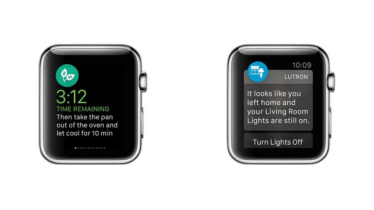Apple Watch - glances e notificações