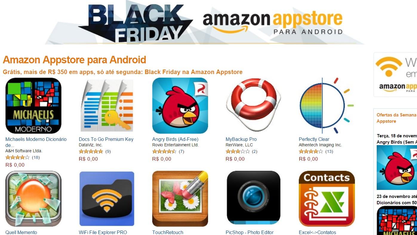 Black Friday - Amazon Appstore