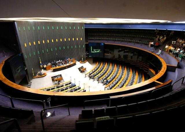 A Câmara dos Deputados  do Brasil (foto: Jose Cruz/Agência Brasil)