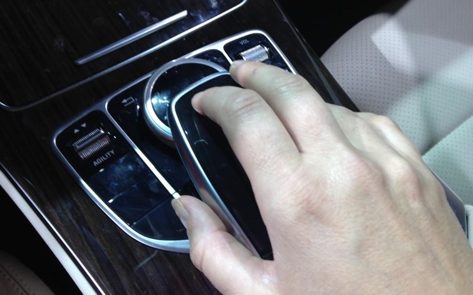 Control Knob Mercedes mouse