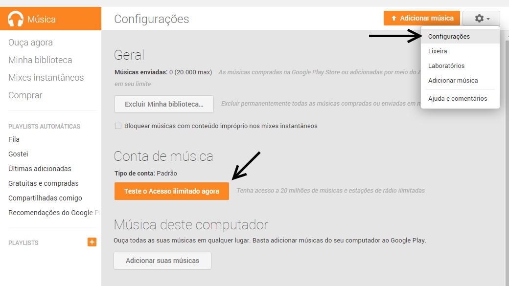 Google Play Música Acesso Ilimitado - Como assinar (4)