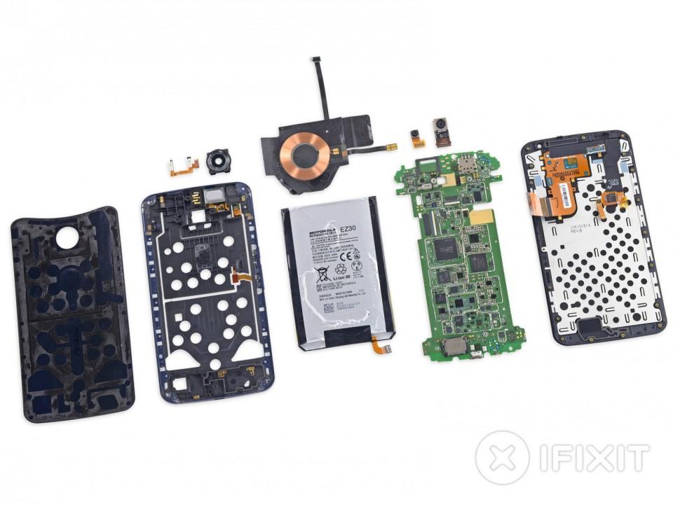 Nexus 6 desmontado