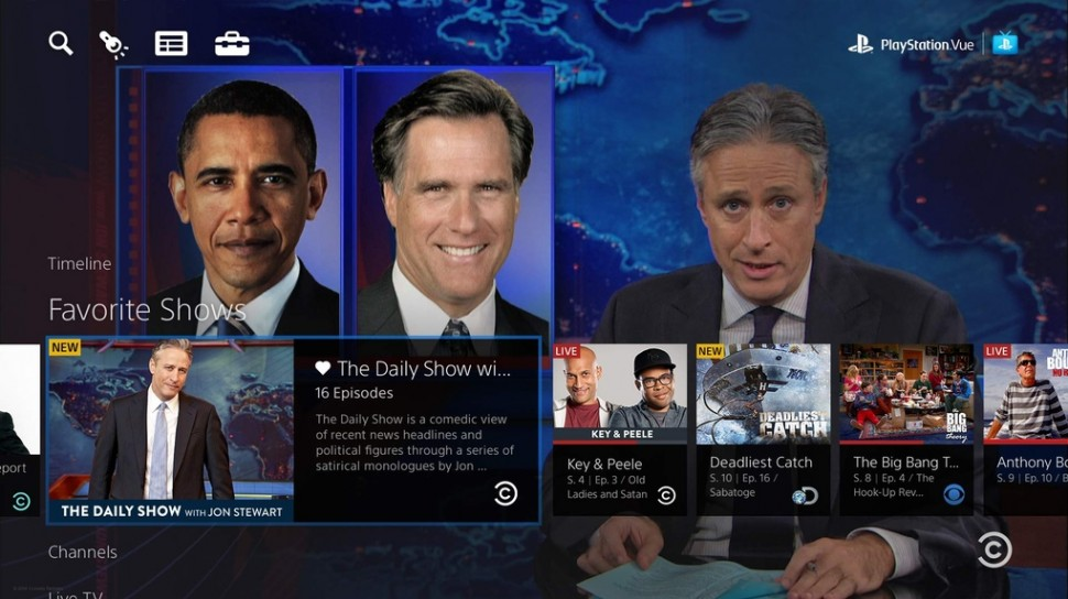 PlayStation Vue Daily Show