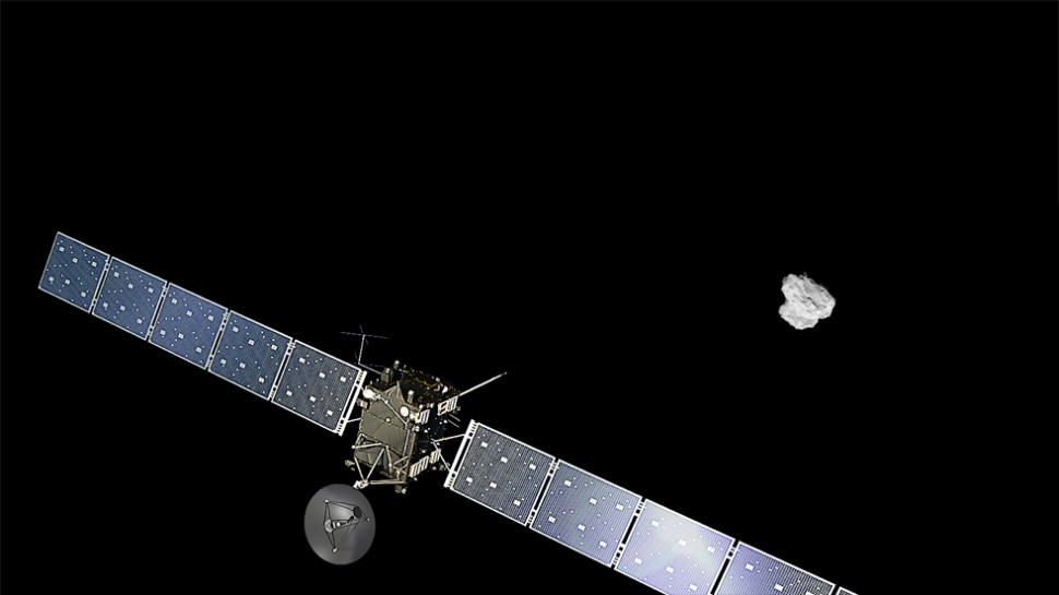 Sonda Rosetta chega ao cometa