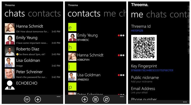 Threema_Screens