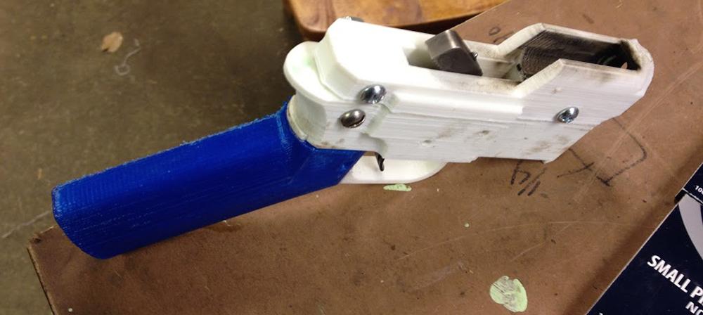 Novo tipo de munição para pistolas feitas em impressora 3D