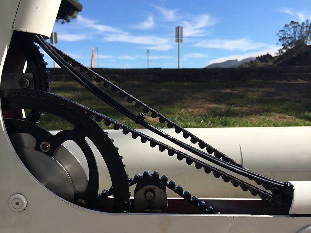 Bicicleta aquática Schiller