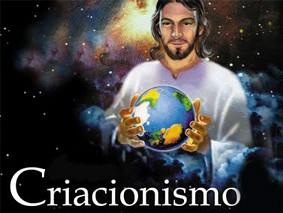 Uma imagem usada por escolas criacionistas no Brasil (Divulgação)