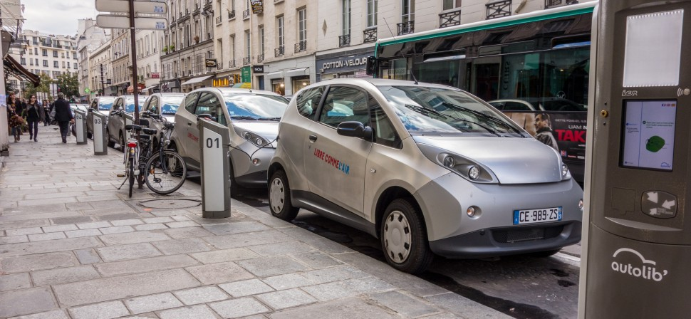 Aluguel de carros em Paris