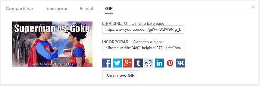 Criar GIFs no YouTube - final