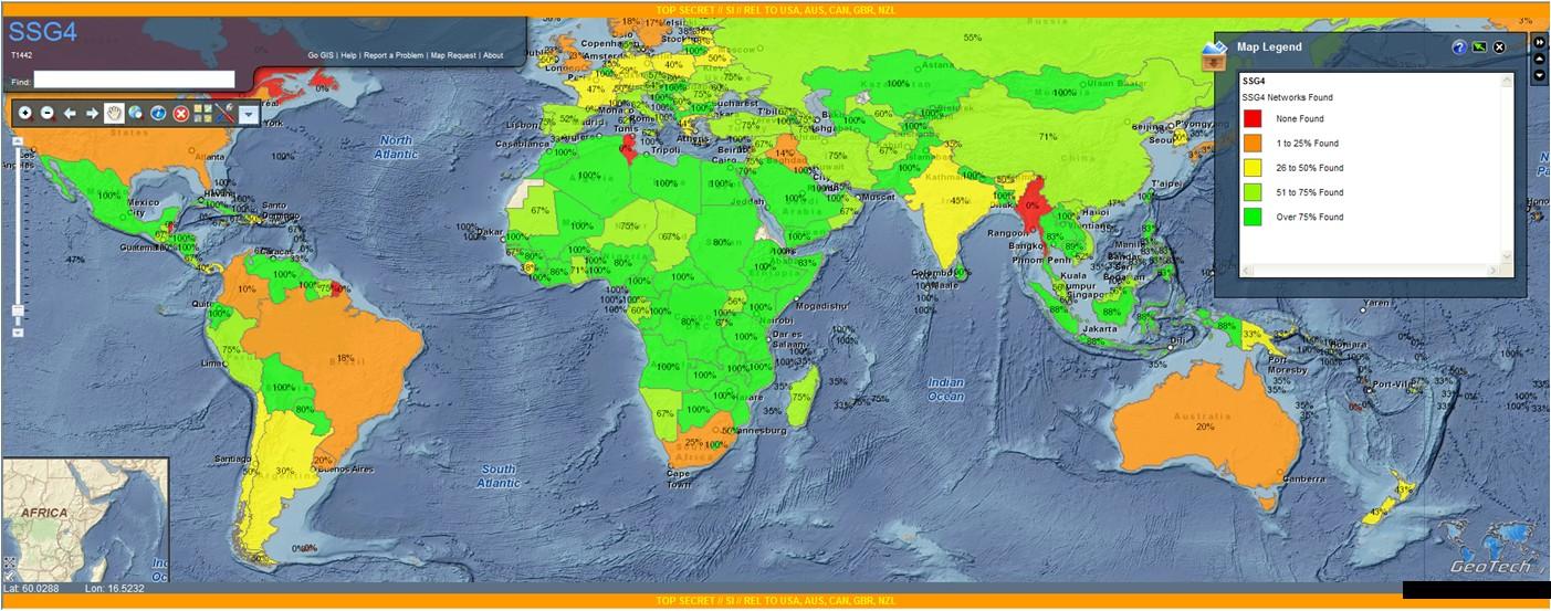 Mapa da AURORAGOLD